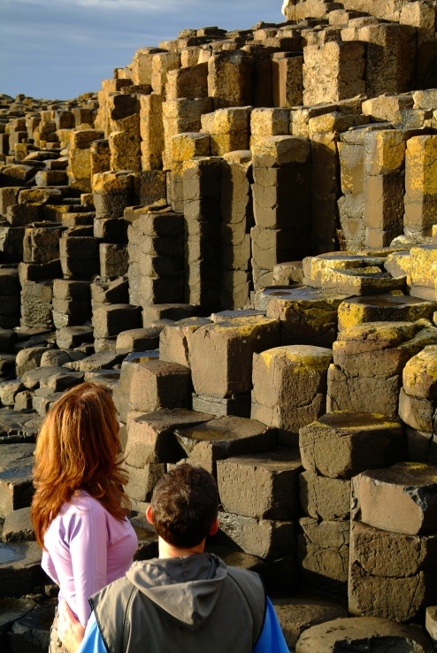The Giants Causeway. UNESCO World Heritage site. A must-see destination on any staycation in Northern Ireland.