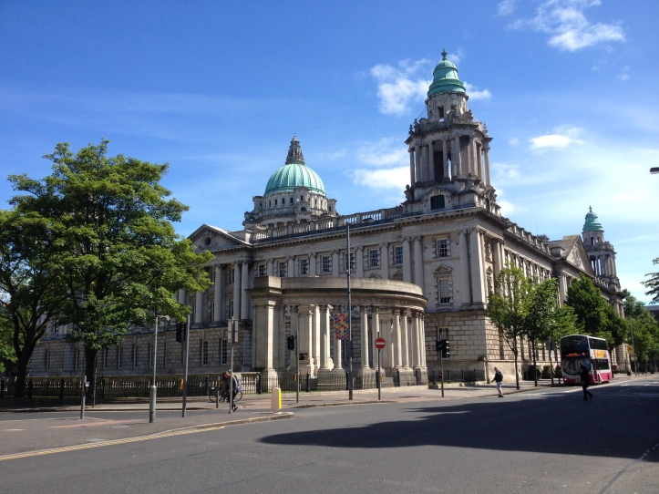 Belfast City Hall. Belfast is a great place to stay for a staycation in Northern Ireland, the perfect base for a Game of Thrones filming locations road trip.