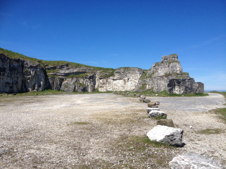 Renley's camp - Larrybane. This car park in a former quarry was the scene of Renley's military encampment in Game of Thrones. Northern Ireland is a great place for a staycation.