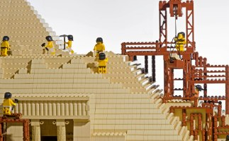 LEGO Brick Wonders at Stockwood Discovery Centre. Things to do with kids this summer. Luton