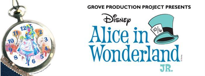 Disney's Alice in Wonderland, kids theatre at Dunstable's Grove Theatre