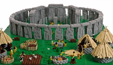 LEGO Brick Wonders at Stockwood Discovery Centre. Things to do with kids this summer in Luton. Lego Stonehenge